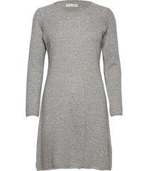 quinn dress kort klänning grå odd molly