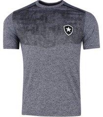 camiseta do botafogo grind - masculina - cinza
