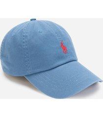 polo ralph lauren men's cotton chino cap - delta blue