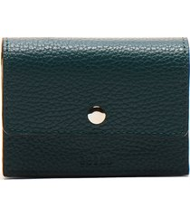women's behno whitney leather wallet - blue