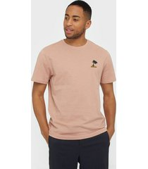 only & sons onsimas reg ss tee noos t-shirts & linnen ljus rosa
