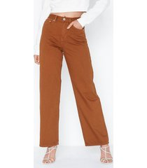 glamorous high waisted jeans straight