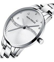 reloj mini focus mf0263l-2 para mujer-plata