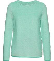 pullover long-sleeve gebreide trui blauw gerry weber edition