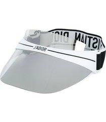dior eyewear diorclub1 visor - white