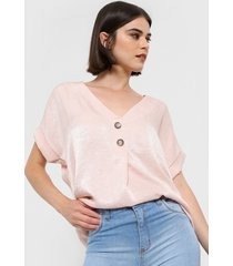blusa  rosa etam rosella