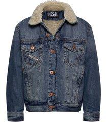 jresky jacket outerwear jackets & coats denim & corduroy blauw diesel