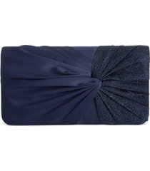 giani bernini twisted flap clutch, created for macy's