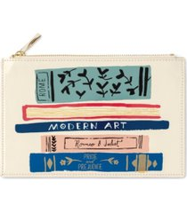 kate spade new york pencil pouch, stack of classics