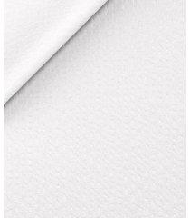giacca da uomo su misura, lanificio subalpino, seersucker stretch bianca, primavera estate | lanieri
