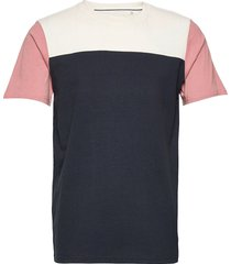 akrod multi block t-shirts short-sleeved multi/mönstrad anerkjendt