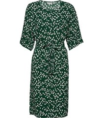 lidia tuulahdus dress jurk knielengte groen marimekko