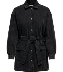 jeansjacka jdysansa belted denim jacket