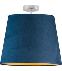 lampa z abażurem kair velur plafon
