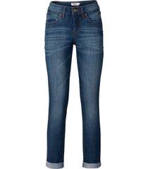jeans alla caviglia elasticizzati (blu) - john baner jeanswear