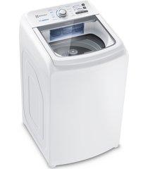 lavadora de roupas electrolux essential care led14, cesto inox, branco, 14 kg - 220 volts