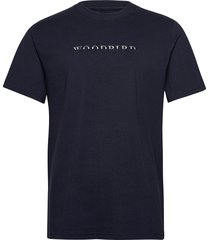 pfeng multi tee t-shirts short-sleeved blå woodbird