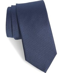 men's nordstrom gamble silk tie, size regular - blue