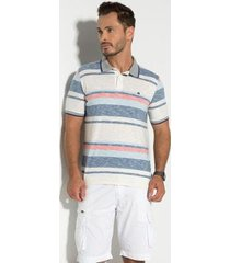 camisa polo rapport seeder masculina