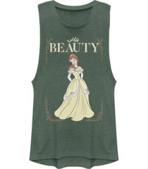 disney juniors' princesses his beauty festival muscle tank top