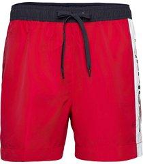 medium drawstring shorts casual röd tommy hilfiger
