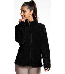 polar hoodie shaggy prema negro body & soul