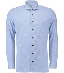 overhemd luxor modern fit blauw