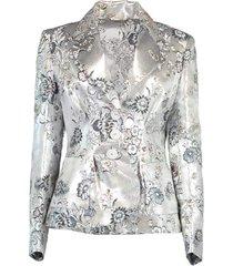 ernest floral jacquard jacket