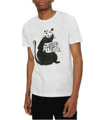 elevenparis men's all over print short sleeve t-shirt