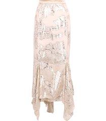 max mara aquila silk skirt