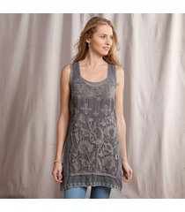 gracie lace tunic