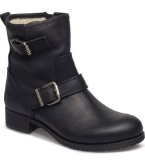 olivia 2 shoes boots ankle boots ankle boots flat heel svart pavement