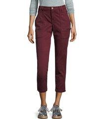 joie women's cropped skinny pants - verbena - size 23 (00)