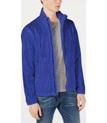 calvin klein men's lightweight ripstop jacket, created for macy's