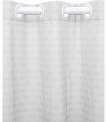 cortina  santista 180x280 calais prata - prata - dafiti
