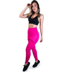 calça legging mvb modas saia tapa bumbum pink