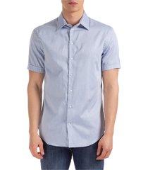 camicia uomo maniche corte modern fit