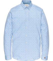 long sleeve shirt texture chambray blue