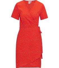 omlottklänning bright dress