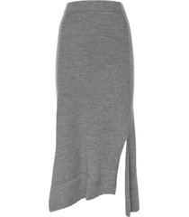 kenzo kenzo ribbed knit skirt