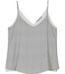 camisa para mujer de tiras lourdes full estampada
