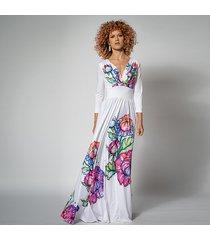flora - suknia ślubna w kwiaty