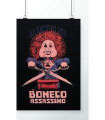 poster boneco assassino