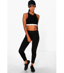 fit basic legging, black