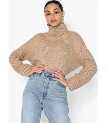 topshop knitted super soft funnel neck jumper stickade tröjor