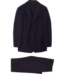 notch lapel mohair wool suit
