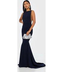 missguided bridesmaid sleeveless low back maxi dress maxiklänningar