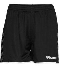 hmlauthentic poly shorts woman shorts sport shorts svart hummel