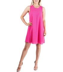 women's sleeveless knee length tunic dress