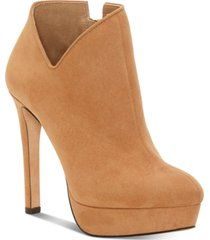 jessica simpson raxen platform booties women's shoes